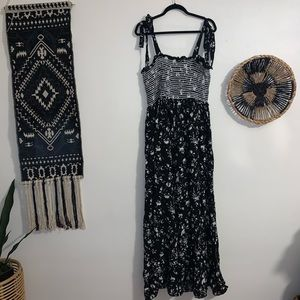 Free People Color My World Jumpsuit in Black
